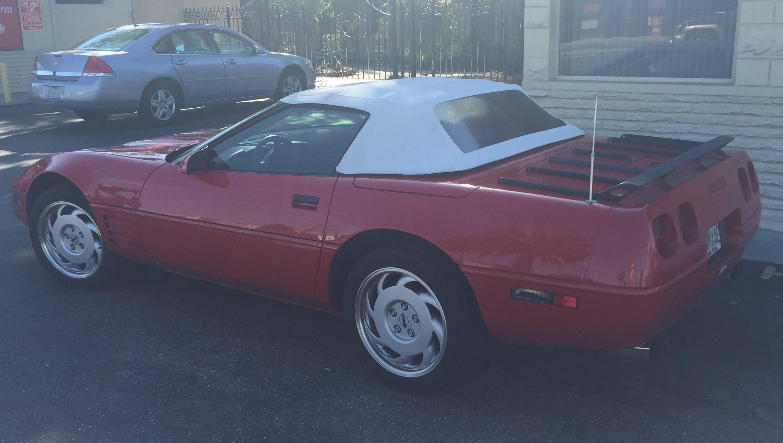 1992 Corvette Convertible